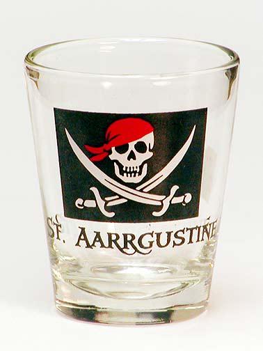 Souvenir Pirate Shotglass