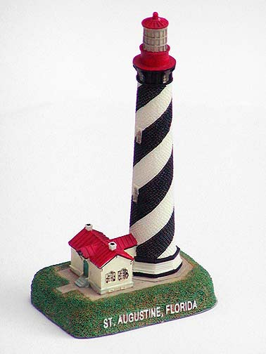 St. Augustine Lighthouse Souvenir paperweight
